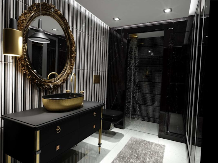 Modern style bathrooms by VERO CONCEPT MİMARLIK Modern