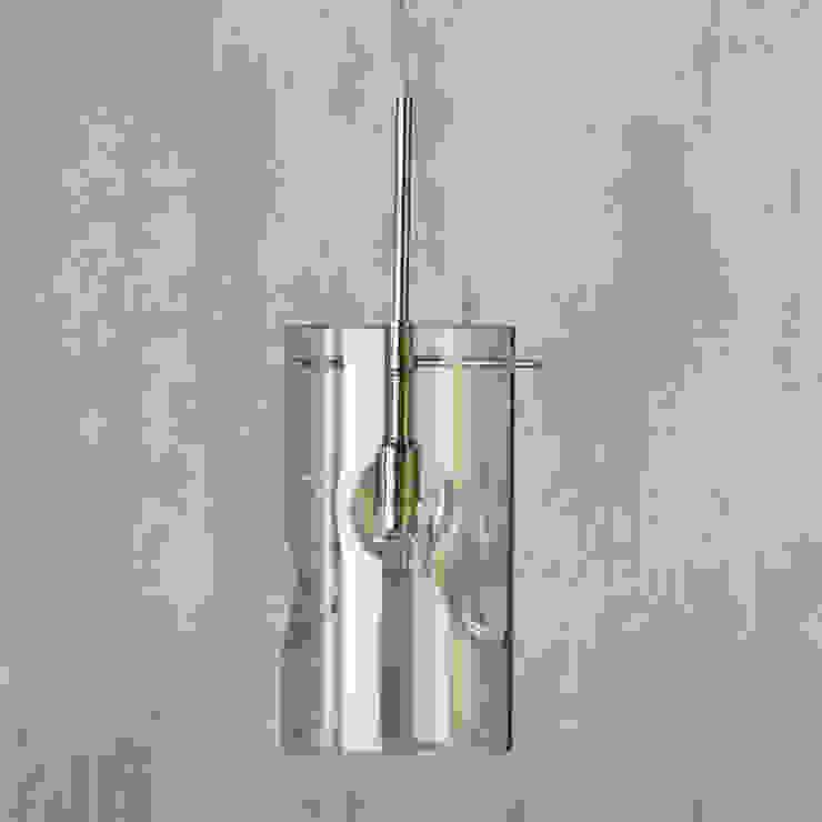 Monet 1 Light Champagne Tinted Glass Ceiling Pendant - Chrome Litecraft SoggiornoIlluminazione Vetro