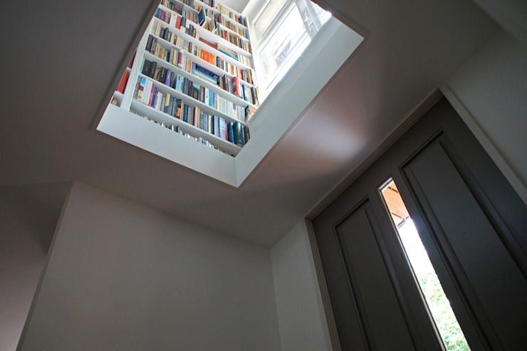 Koridor & Tangga Modern Oleh studio architecture Modern Beton