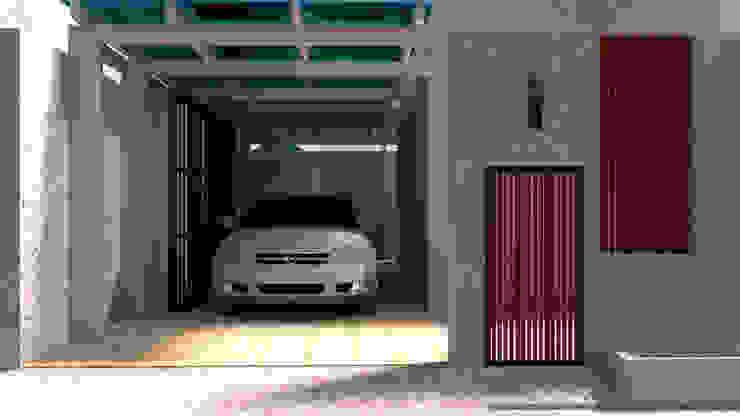 ออกแบบ 3d บ้าน 3 ชั้นให้ลูกค้า style ioft mayartstyle บ้านและที่อยู่อาศัย คอนกรีตเสริมแรง Grey