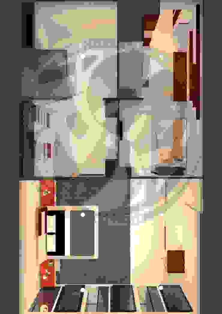 ออกแบบ 3d style modern โดย mayartstyle โมเดิร์น แผ่น MDF