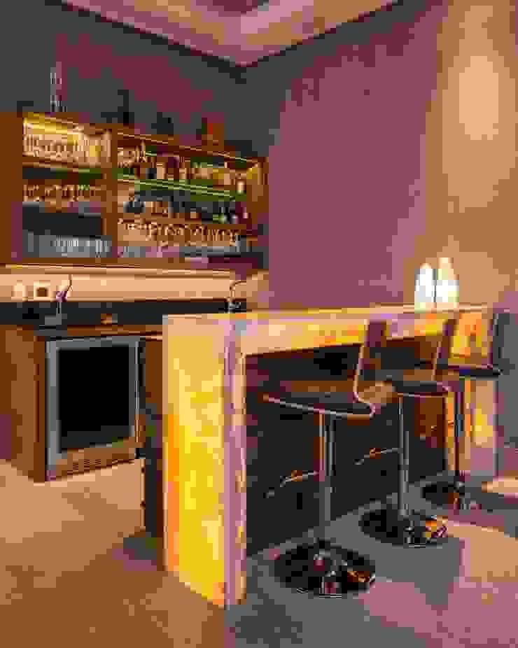 BAR Bodegas modernas de Rousseau Arquitectos Moderno