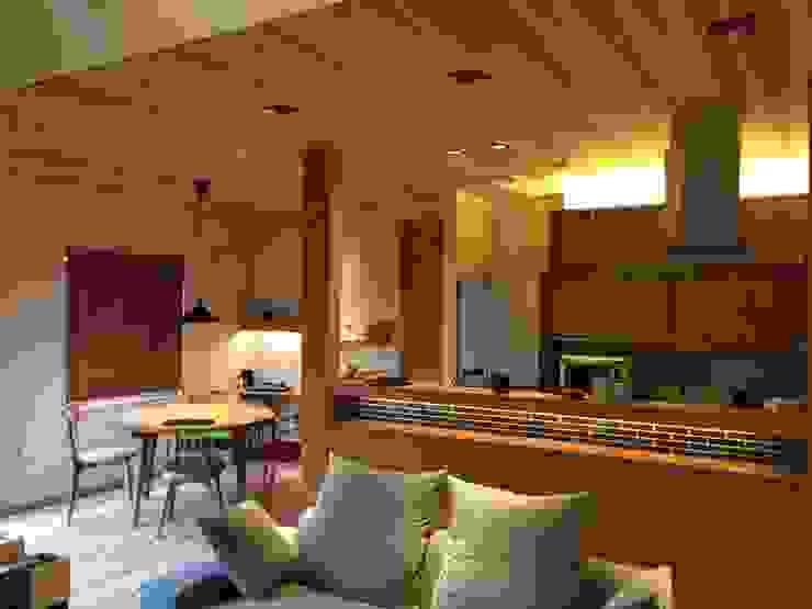 LDK 北欧デザインの リビング の AD-HOUSE/株式会社大喜建設 北欧