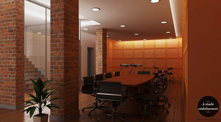 Conference / Meeting Area 01: modern  by La Studio Embellissement,Modern