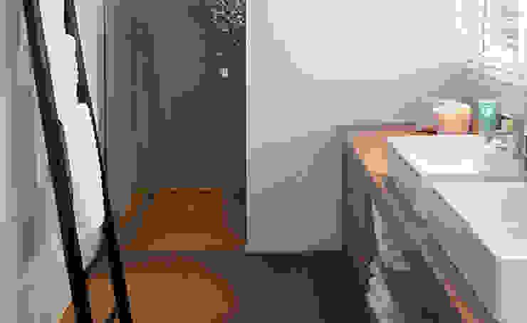Woonhuis het Gooi Landelijke badkamers van design iD Landelijk
