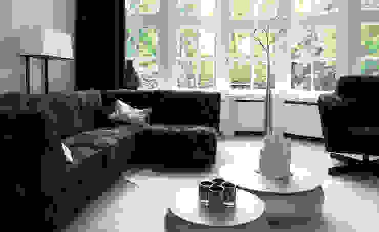 Woonhuis het Gooi Landelijke woonkamers van design iD Landelijk