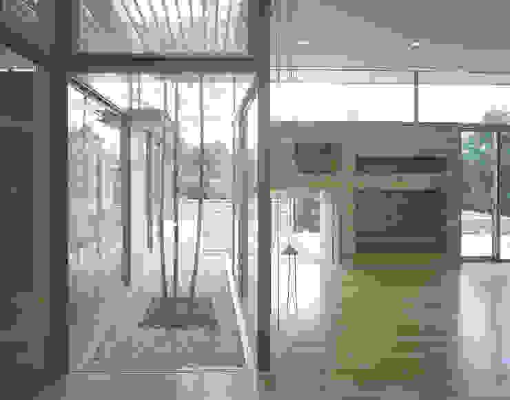 吉野町の住宅 アトリエ環 建築設計事務所 モダンデザインの リビング