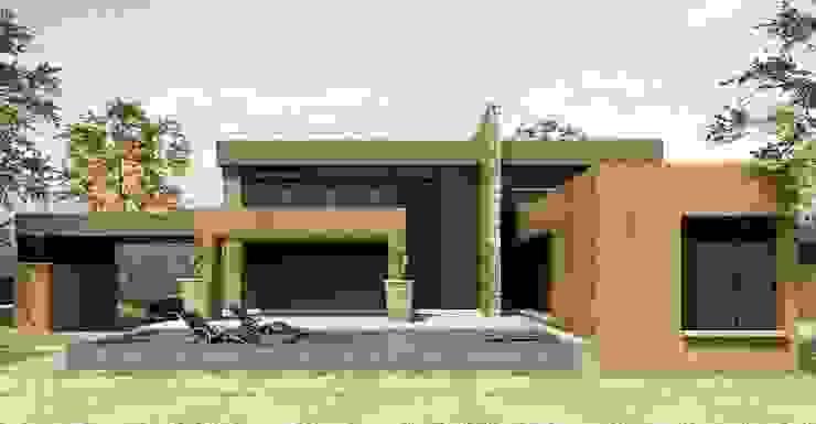 CASAS CASTRO PERAFAN Casas modernas de Elite Arquitectura y Asoc. SAS. Moderno Ladrillos
