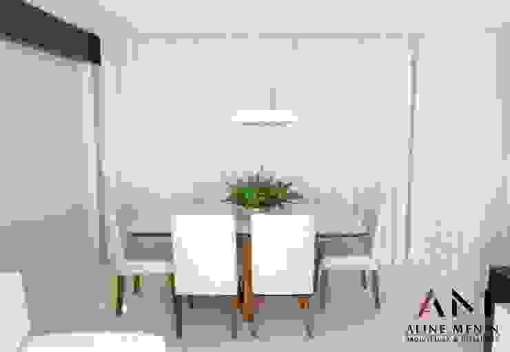 Jantar Aline Menin Arquitetura Salas de jantar modernas