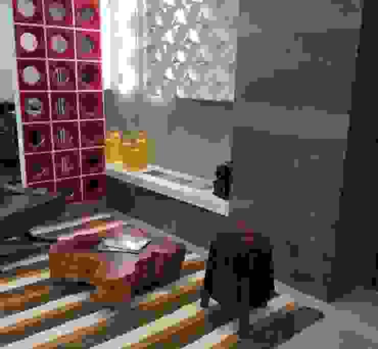 Ambiente Lareira.: Salas de estar  por De Paula projetos de Interiores.,Moderno