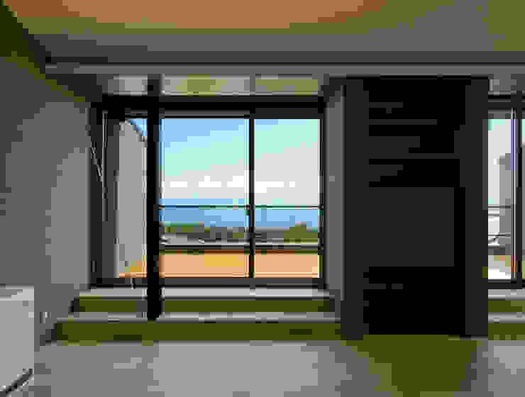 一級建築士事務所アールタイプ ระเบียง, นอกชาน กระจกและแก้ว Transparent