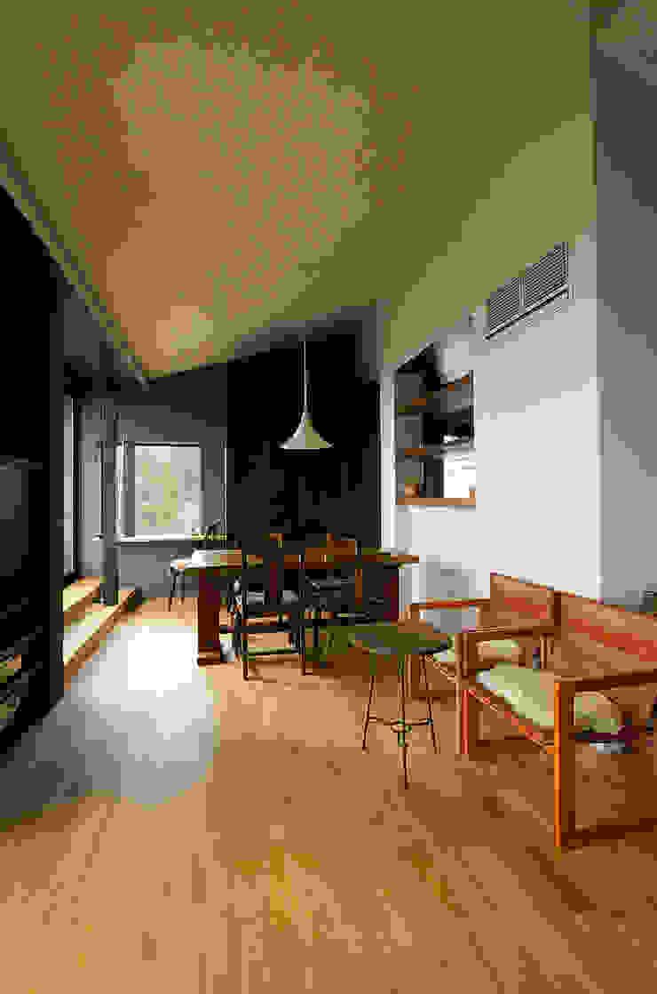 一級建築士事務所アールタイプ ห้องทานข้าว ไม้ Wood effect