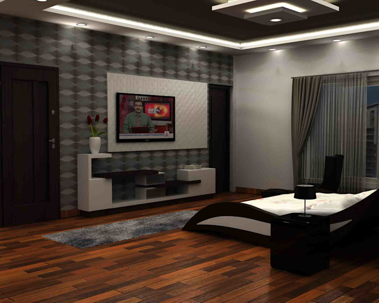 Living design by SAHHA architecture & interiors