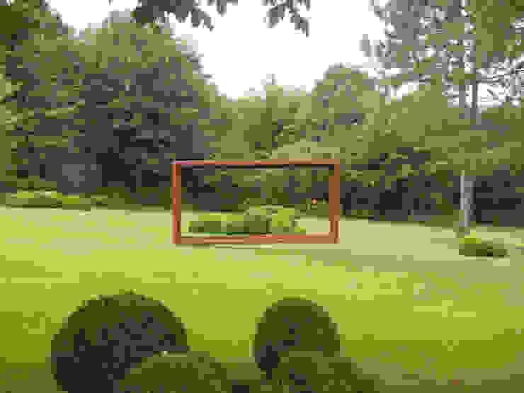 Jardines de estilo rural de 2kn architekt + landschaftsarchitekt Thorsten Kasel + Sven Marcus Neu PartSchG Rural Metal