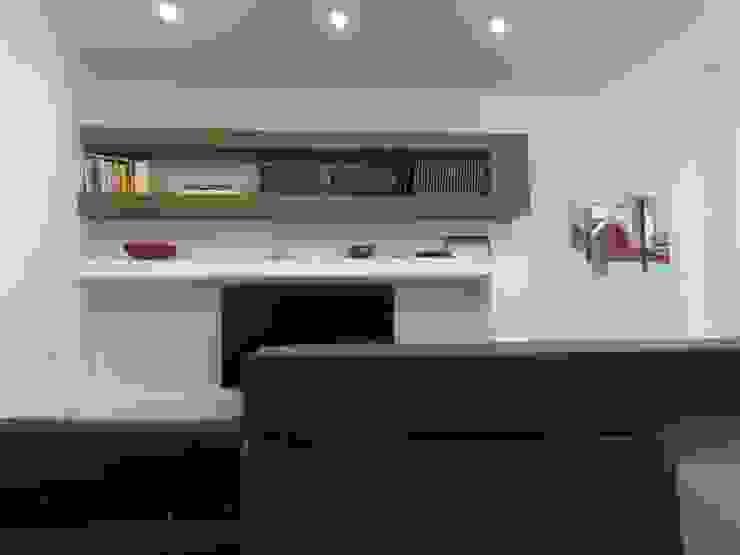 Zona tv Soggiorno moderno di Luca Palmisano Architetto Moderno