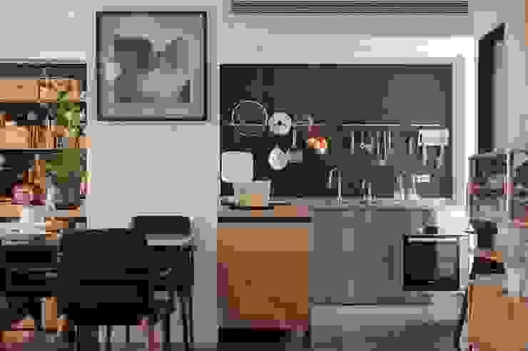 天母曹宅 根據 直方設計有限公司 北歐風 金屬