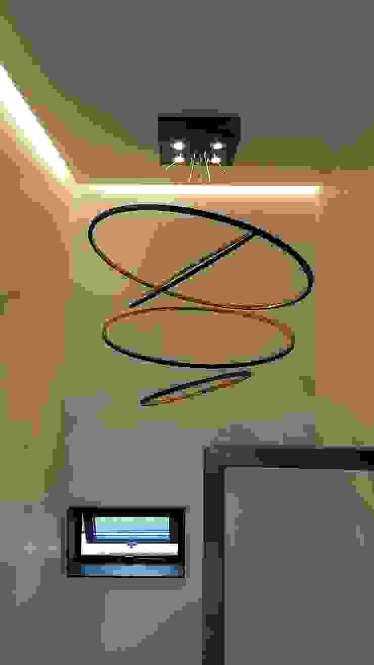 파주 메종 드 유유 모던스타일 복도, 현관 & 계단 by Douglas Minkkinen by Modena Design 모던