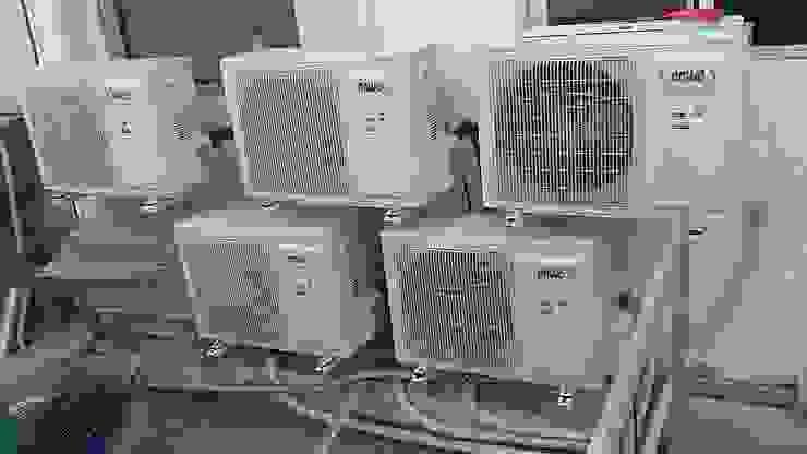 Inspección técnica instalación equipos climatización proyecto Banco de Chile, Iquique. de Gerardo Cervellino EIRL