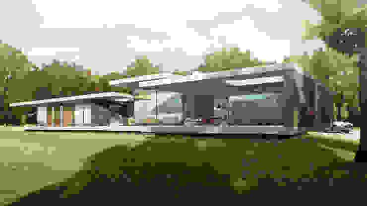 Riverside New Build in Oxfordshire Modern Evler HollandGreen Modern