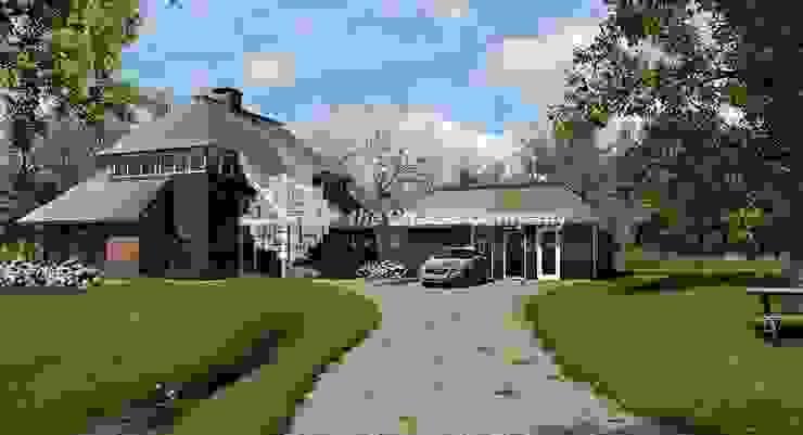 Rietgedekte woning Landelijke huizen van Architectenbureau The Citadel Company Landelijk