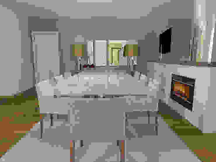 Classic Dining Room Minimalist dining room by Movelvivo Interiores Minimalist