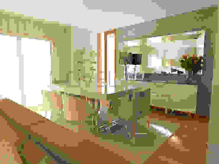 Cute Dining Room Minimalist dining room by Movelvivo Interiores Minimalist