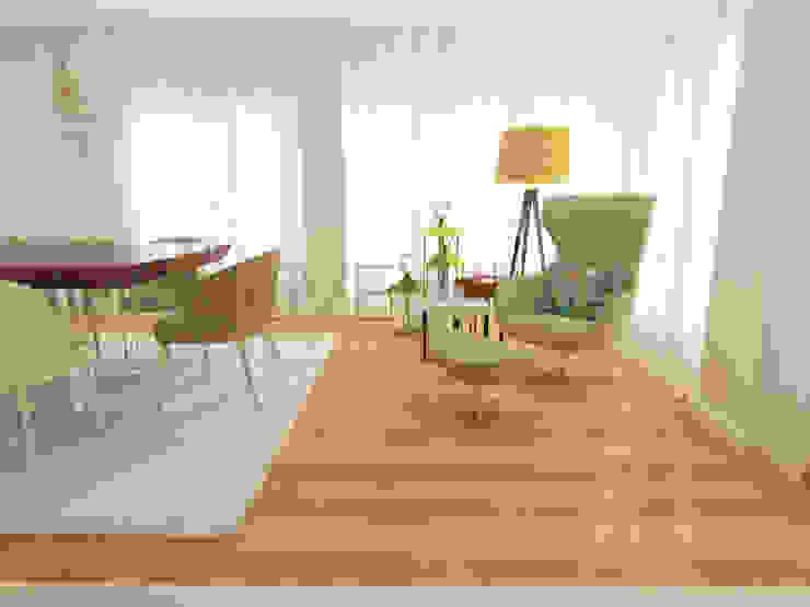 Standard Dining Room Minimalist dining room by Movelvivo Interiores Minimalist