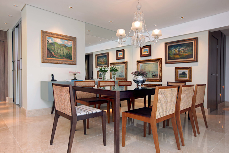 Atelier Tríade Arquitetura Dining room