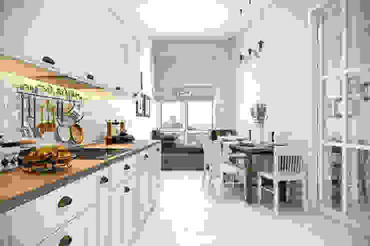 Kitchen by Студия архитектуры и дизайна Дарьи Ельниковой, Scandinavian