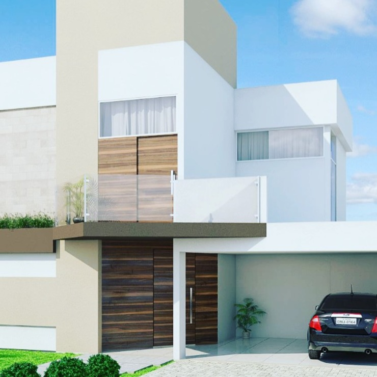 casa contemporânea por Renata Prata Studio