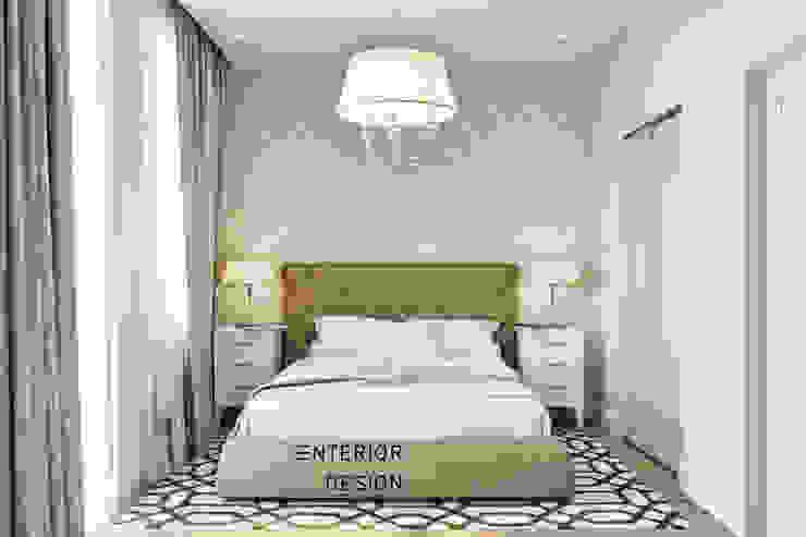 Студия архитектуры и дизайна Дарьи Ельниковой Country style bedroom