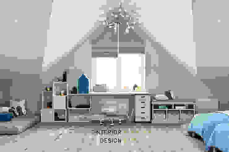 Студия архитектуры и дизайна Дарьи Ельниковой Country style nursery/kids room