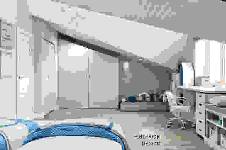 Студия архитектуры и дизайна Дарьи Ельниковой ห้องนอนเด็ก