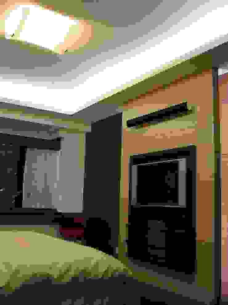 臥室 根據 云鼎設計/陳柏壽建築師事務所 日式風、東方風