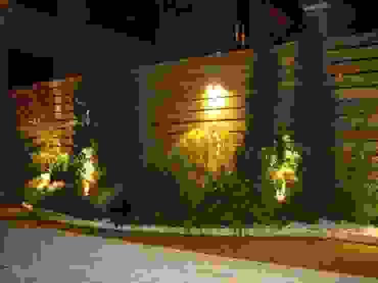 景觀庭園 根據 云鼎設計/陳柏壽建築師事務所 工業風