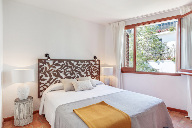 Bedroom Kamar Tidur Gaya Mediteran Oleh Markham Stagers Mediteran