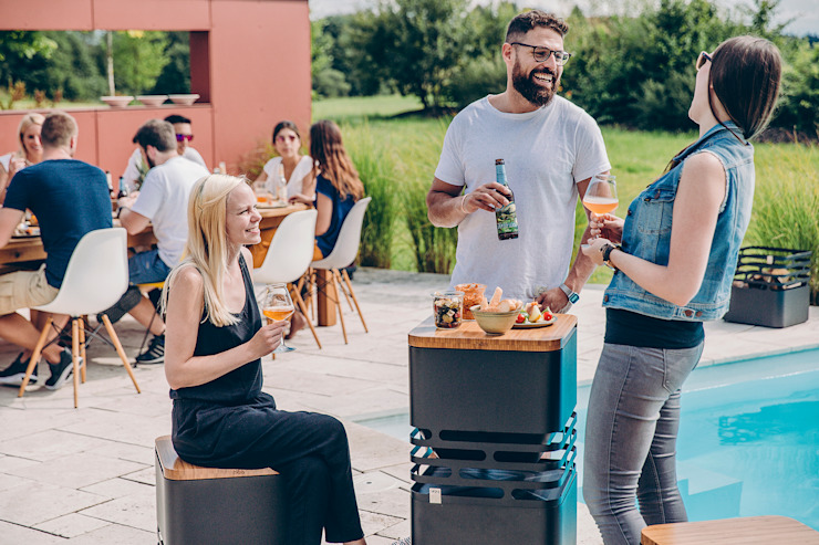 höfats GmbH Garden Fire pits & barbecues Iron/Steel