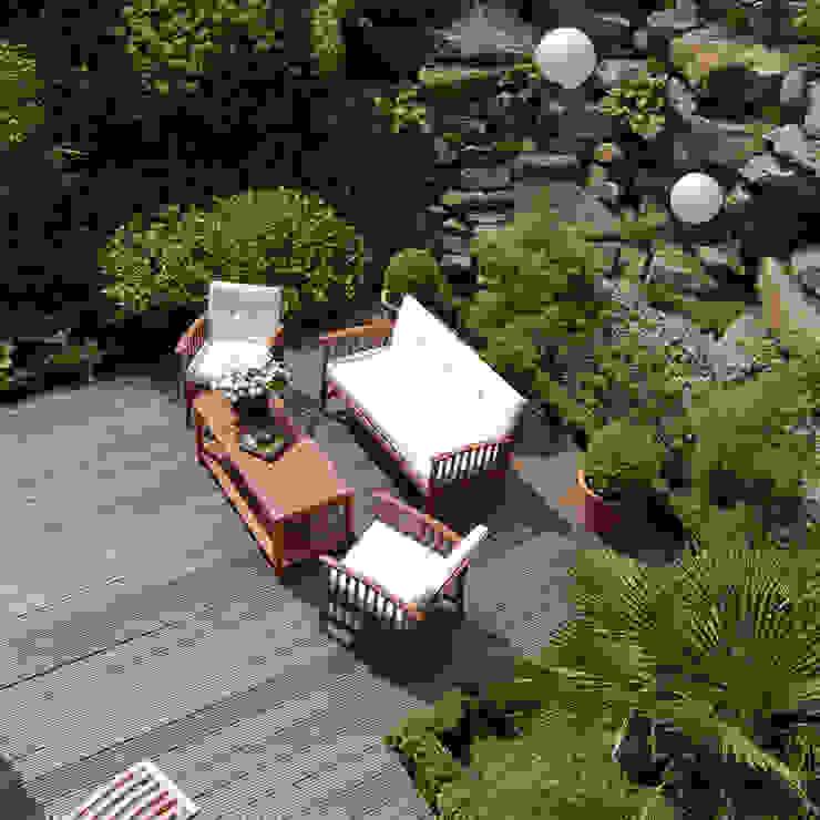 Garden by 2kn architekt + landschaftsarchitekt Thorsten Kasel + Sven Marcus Neu PartSchG