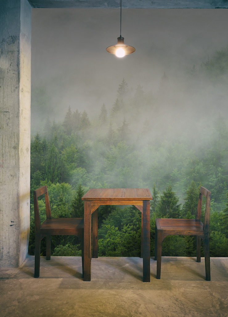 SURROUNDING THE FOG Pixers Colonial style dining room