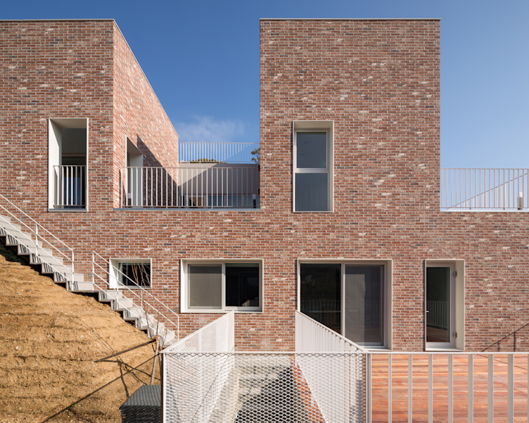 Modern home by 건축농장 Farming Architecture Modern