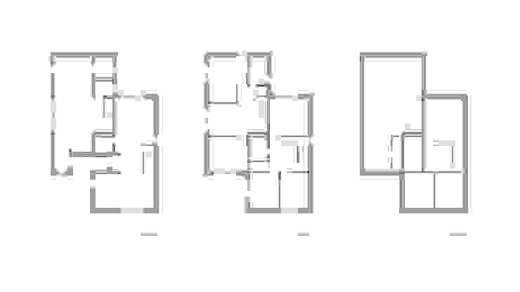 운중동 주택 모던스타일 주택 by 원더 아키텍츠 / Wonder Architects 모던