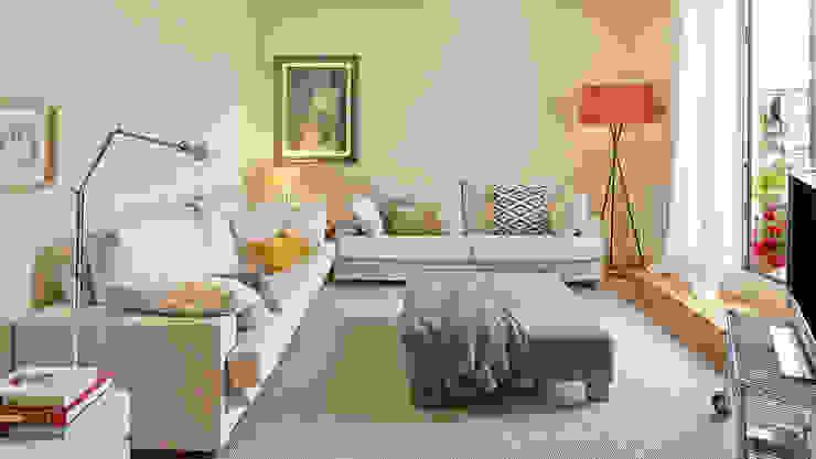 Ruang Keluarga Modern Oleh THE ROOM & CO interiorismo Modern