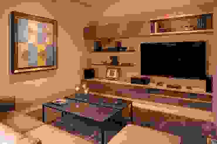 Rousseau Arquitectos Modern media room