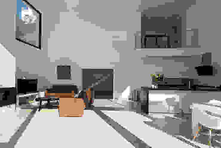 Home & Haus | Home Staging & Fotografía Minimalistische Wohnzimmer Weiß