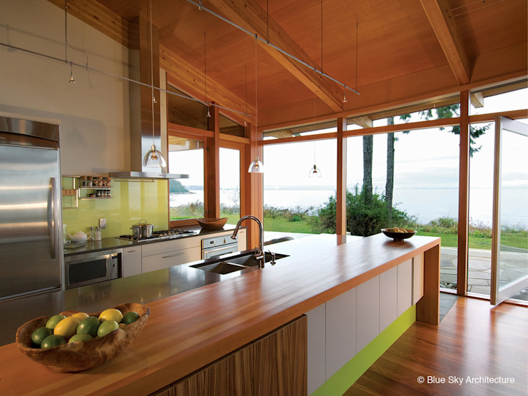 Helliwell + Smith • Blue Sky Architecture Modern kitchen