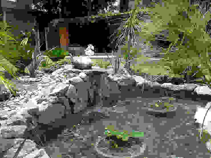 Tropical style garden by RIVERA ARQUITECTOS Tropical