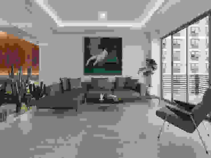 MG estudio de arquitectura Livings de estilo moderno