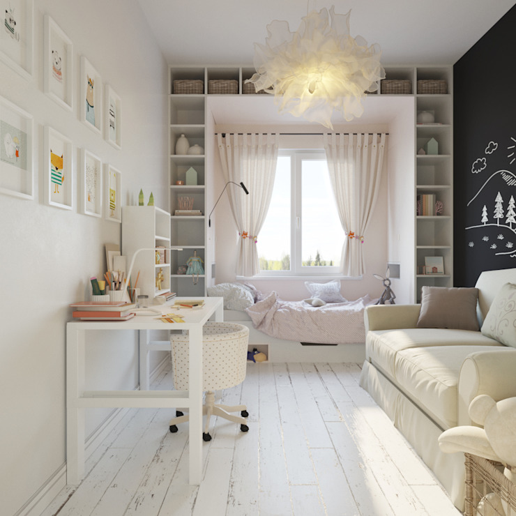 Nursery/kid's room by ДОМ СОЛНЦА, Scandinavian