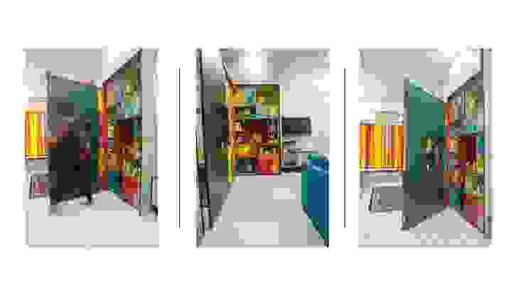 compact living Modern nursery/kids room by The Red Brick Wall Modern