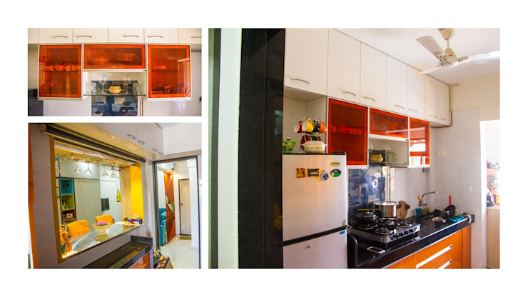 compact living Modern kitchen by The Red Brick Wall Modern